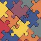 На фото Puzzle colour 050